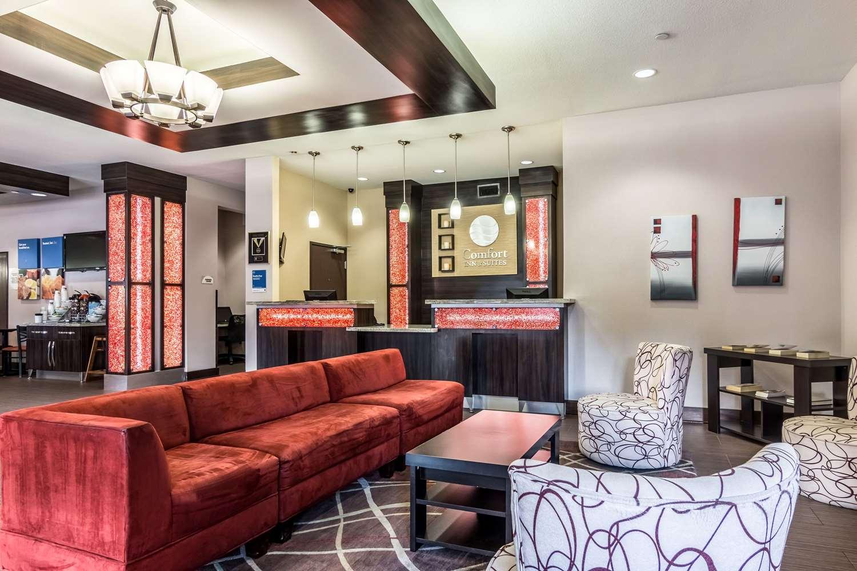 Lobby - Comfort Inn & Suites Mansfield