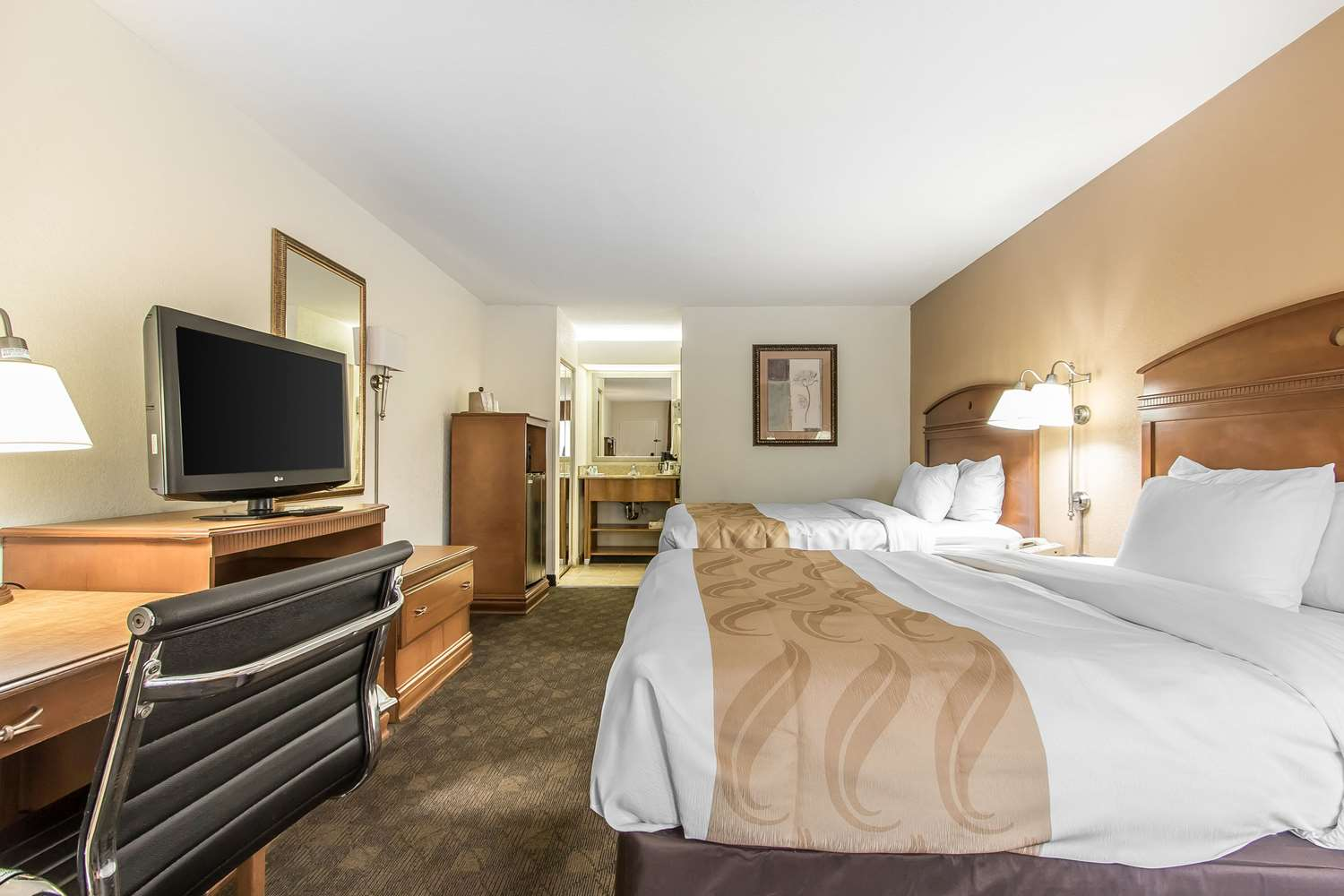 Room - Quality Inn Monroe
