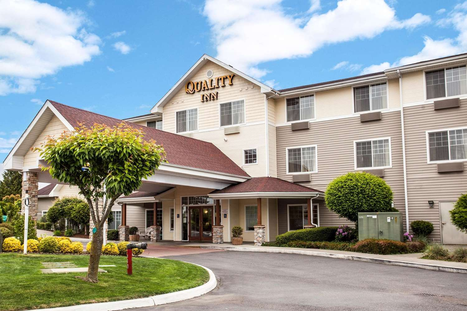 Exterior view - Quality Inn & Suites Federal Way