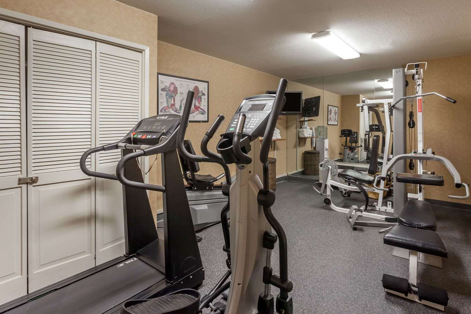 Fitness/ Exercise Room - Baymont Inn & Suites Historic Route 66 Barstow