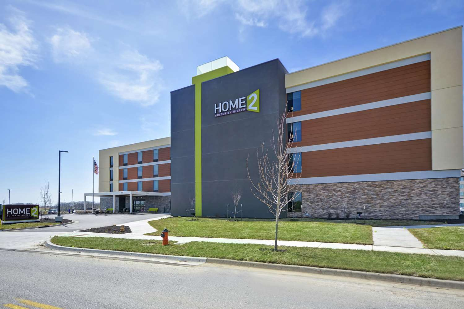 Exterior view - Home2 Suites by Hilton Airport Kansas City