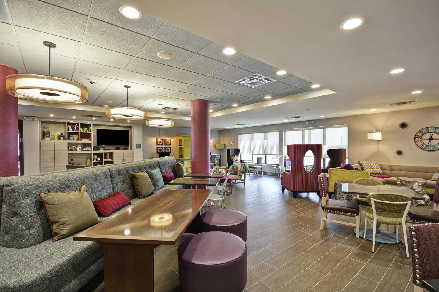 Lobby - Home2 Suites by Hilton Airport Kansas City