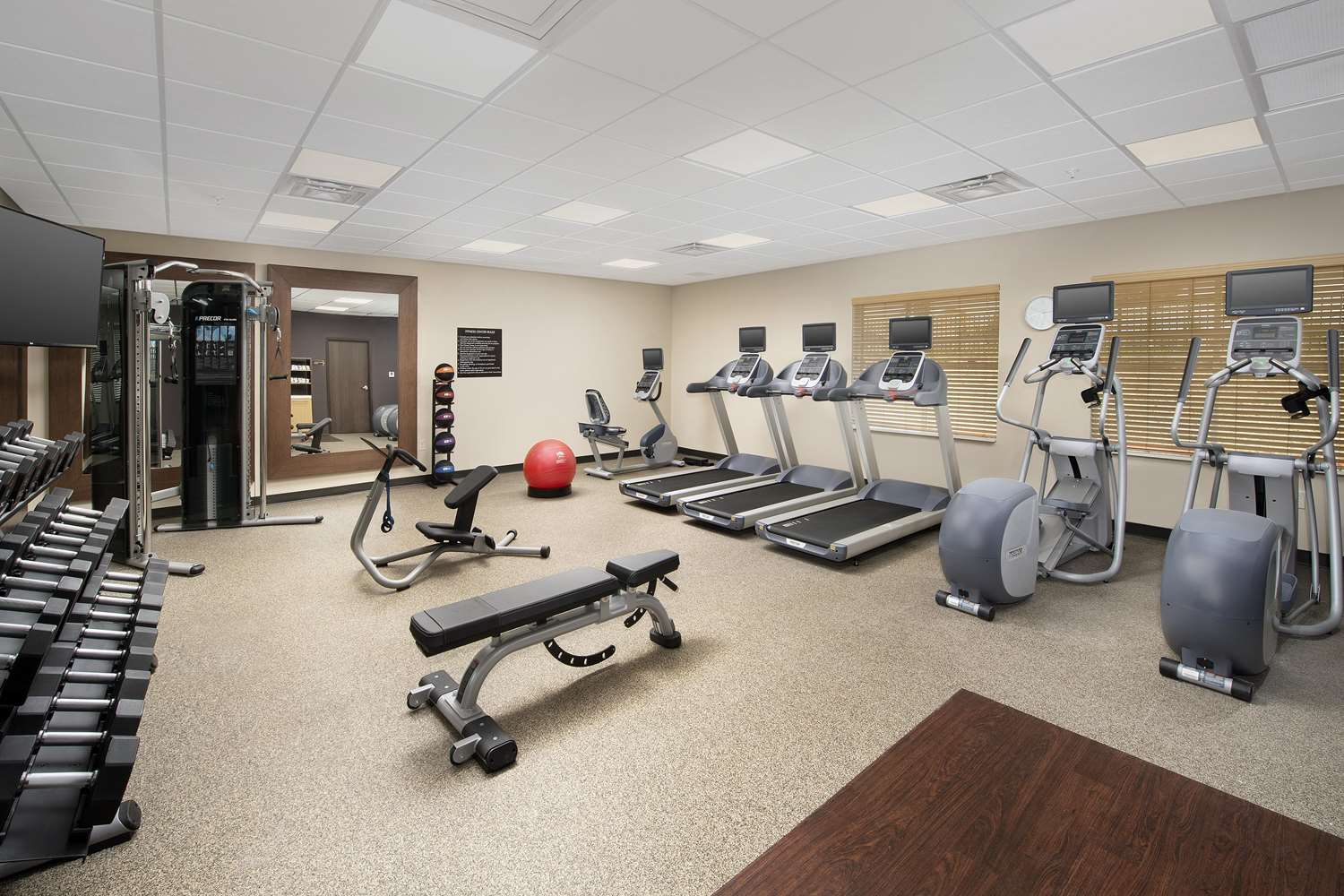 Fitness/ Exercise Room - Homewood Suites by Hilton Kansas City Speedway