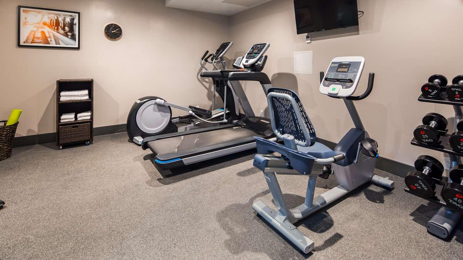 Fitness/ Exercise Room - Best Western Far Rockaway Inn