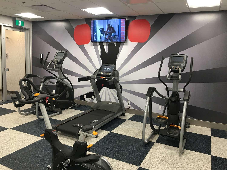 Fitness/ Exercise Room - GLo Best Western Kanata Hotel