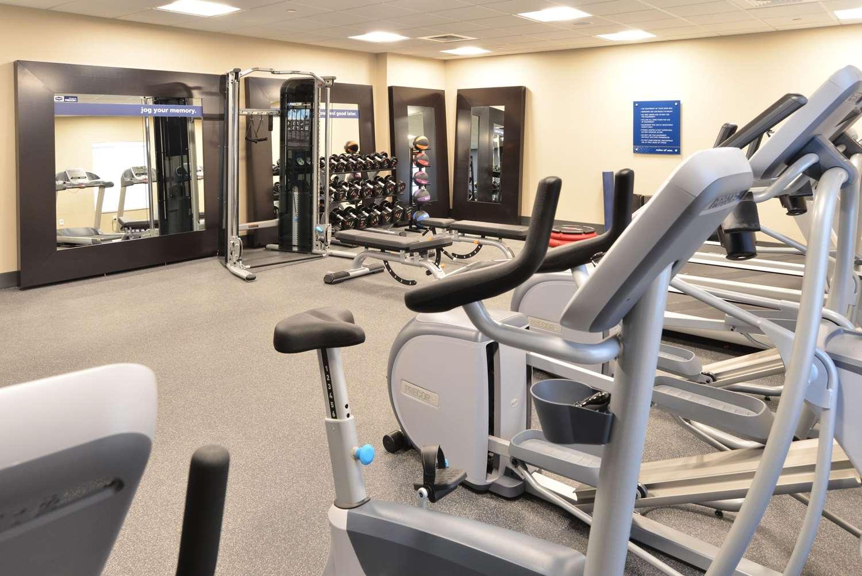 Fitness/ Exercise Room - Hampton Inn & Suites Menomonie