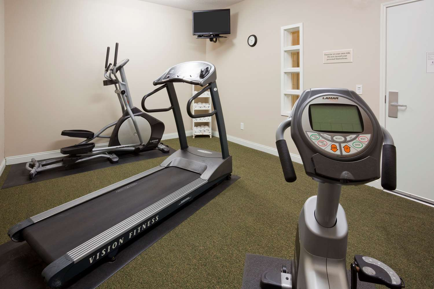 Fitness/ Exercise Room - Grandstay Residential Suites Rapid City