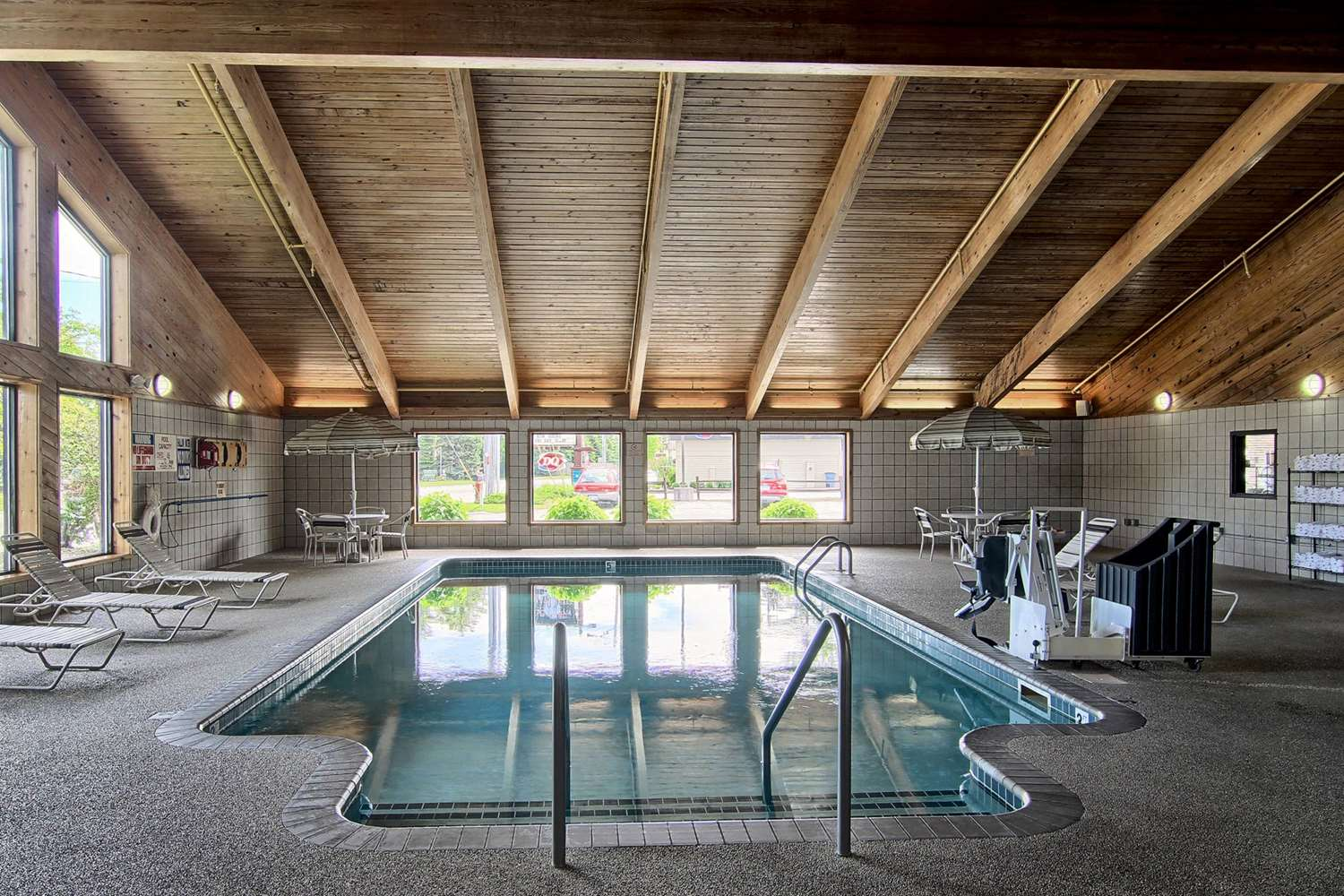 Pool - GrandStay Hotel & Suites Traverse City