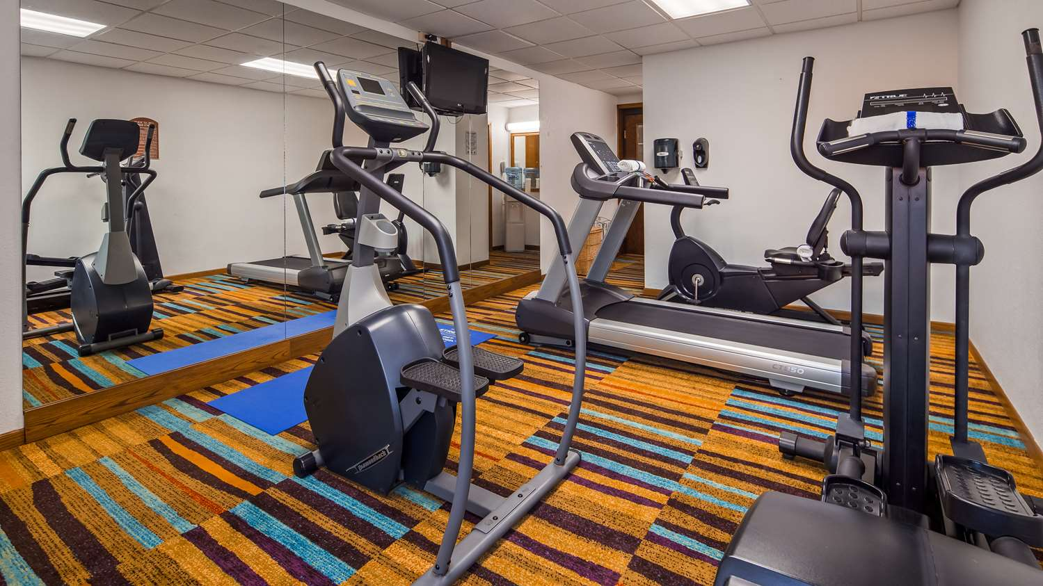 Fitness/ Exercise Room - SureStay Hotel by Best Western McPherson