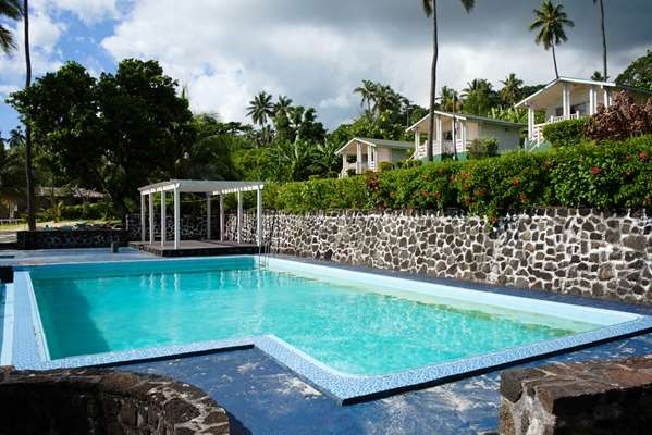 The Swimming pool and Private Beach