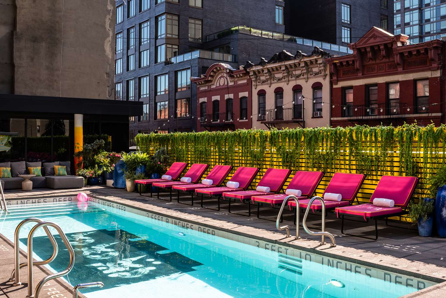 Pool - SIXTY Lower East Side Hotel New York