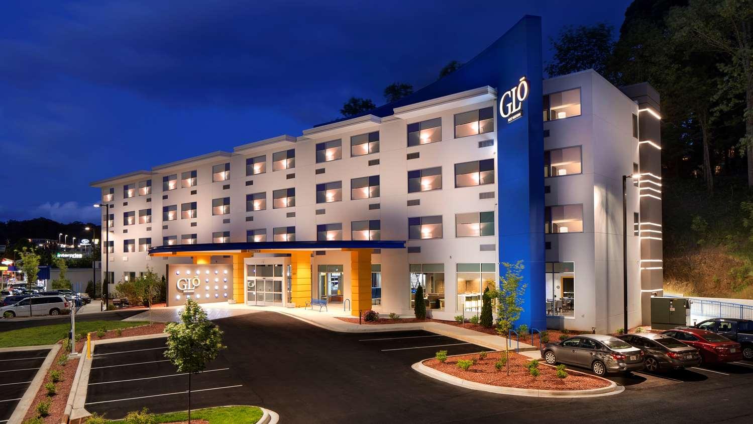 Exterior view - GLo Best Western Asheville Hotel