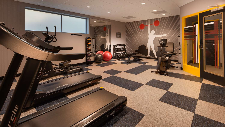 Fitness/ Exercise Room - GLo Best Western Asheville Hotel