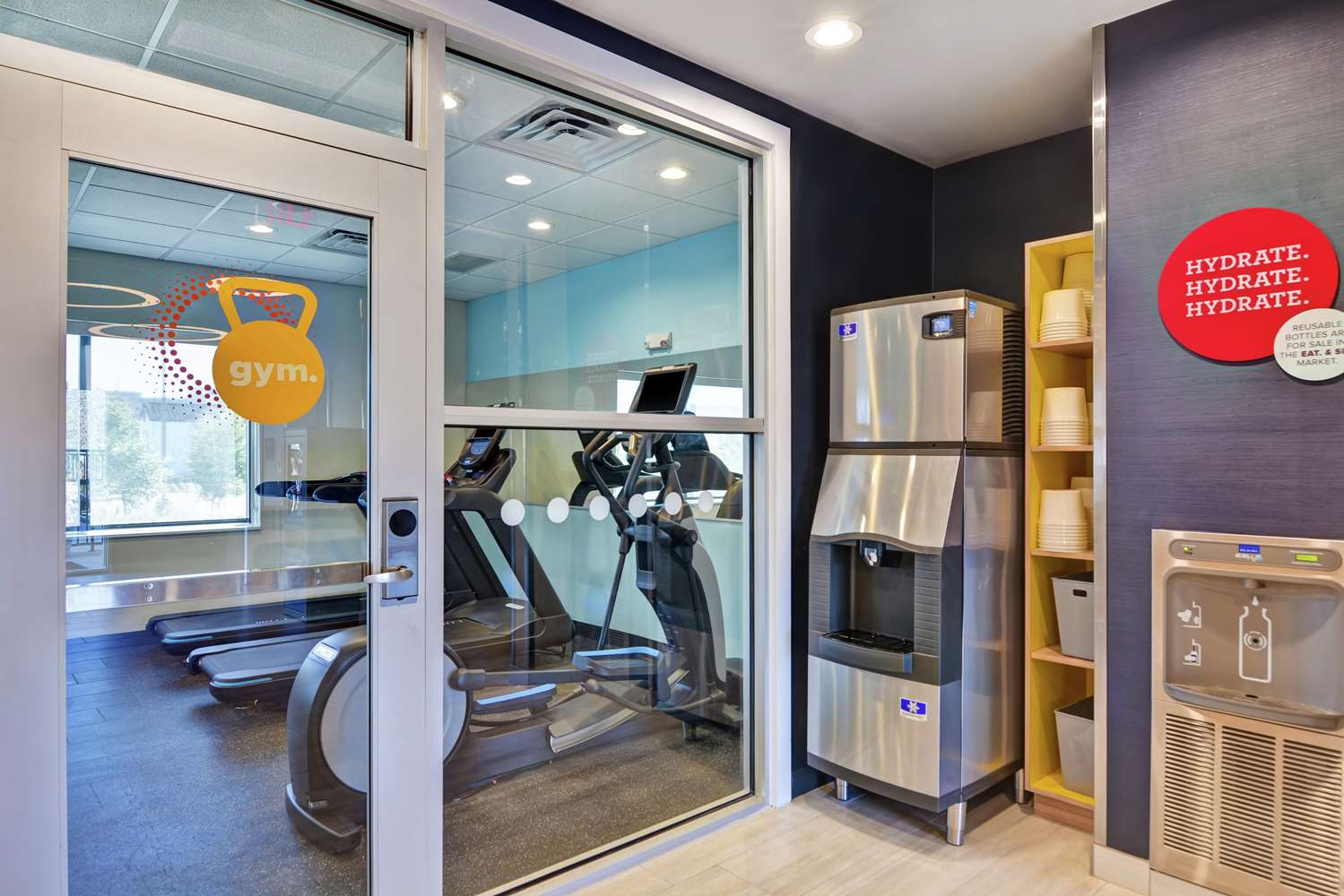 Fitness/ Exercise Room - Tru by Hilton Hotel Citiplace Baton Rouge