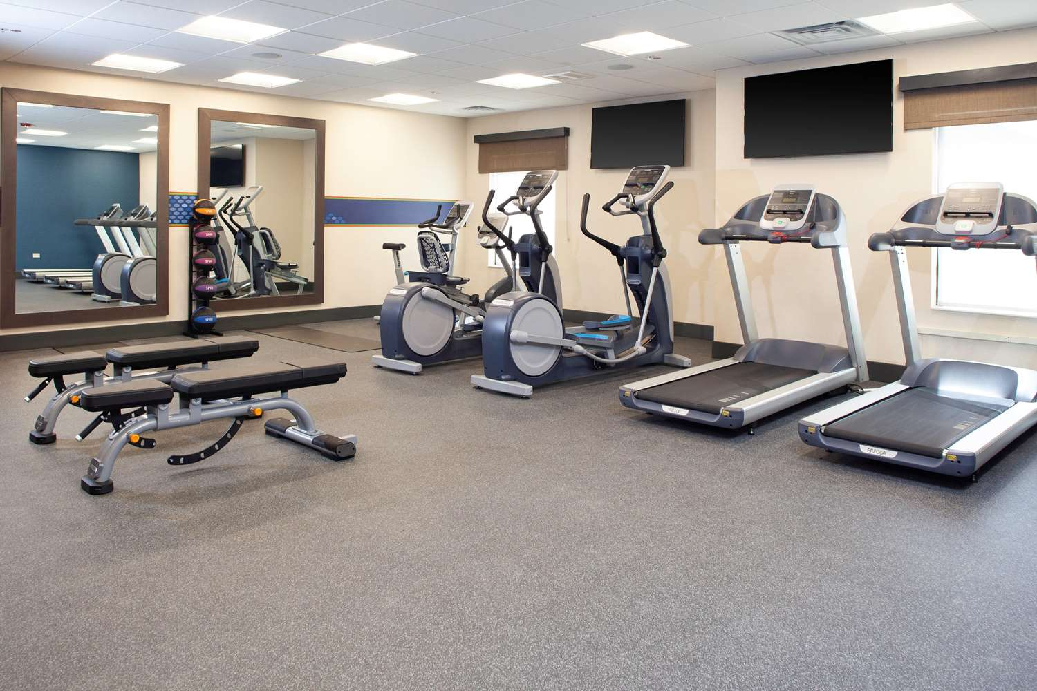 Fitness/ Exercise Room - Hampton Inn & Suites Burr Ridge