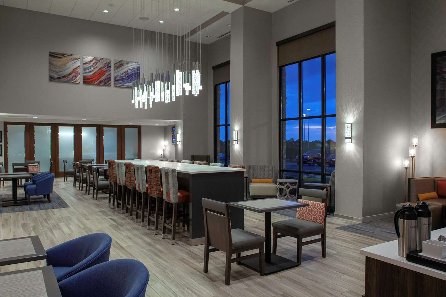 Lobby - Hampton Inn & Suites Burr Ridge