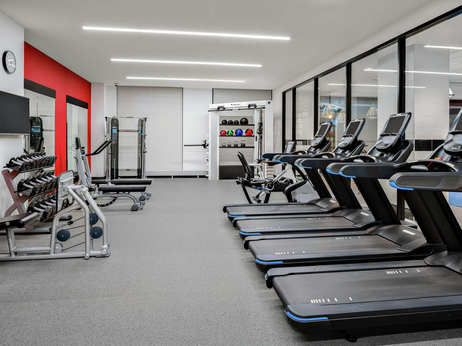 Fitness/ Exercise Room - Hampton Inn McCormick Place Chicago