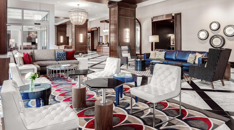 Lobby - Hilton Garden Inn McCormick Place Chicago
