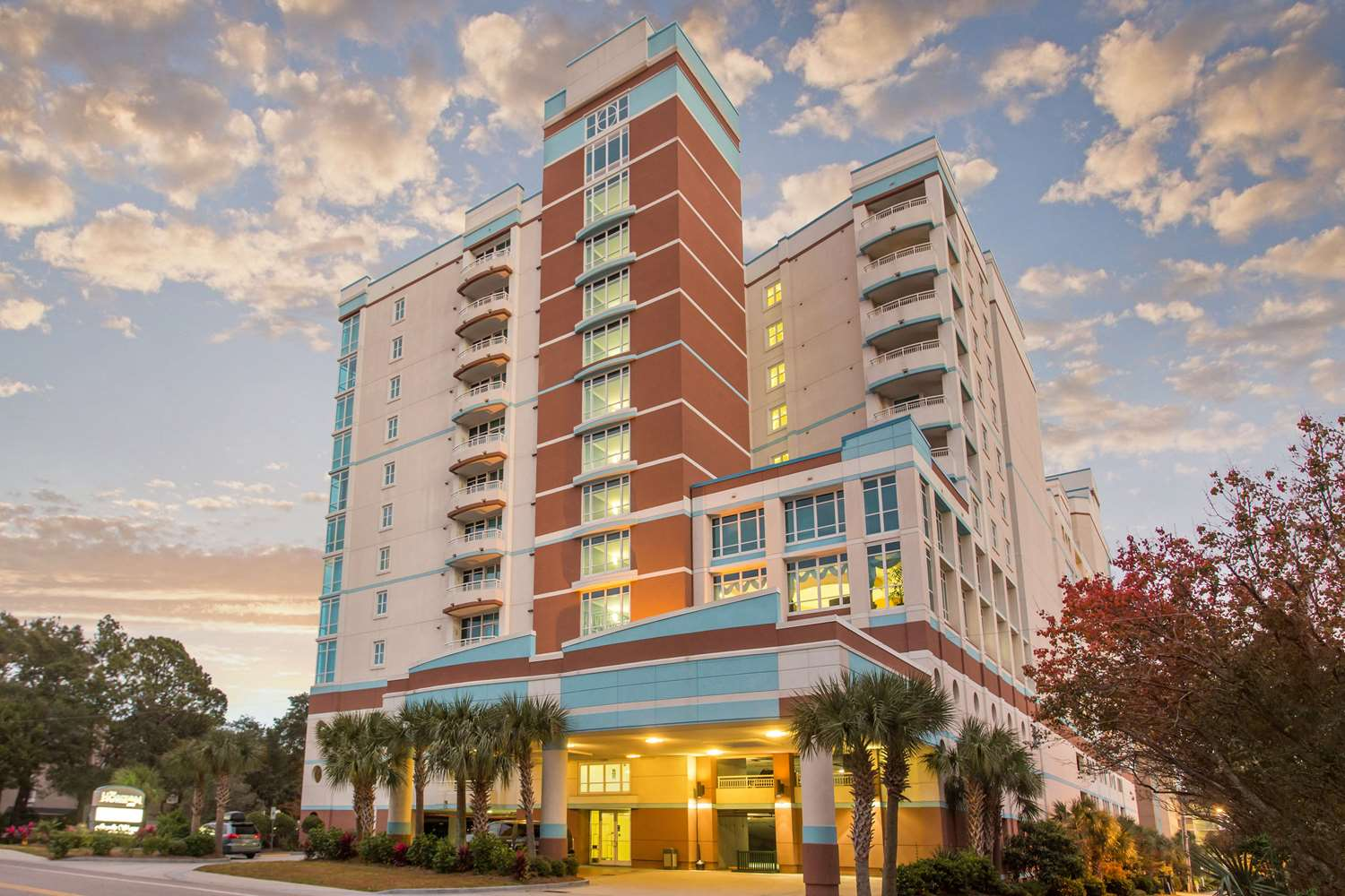 Exterior View Bluegreen Vacations Horizons At 77th Resort Myrtle Beach