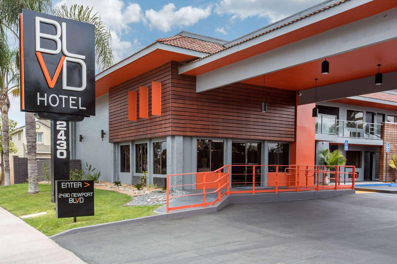 Exterior view - BLVD Hotel Express Costa Mesa