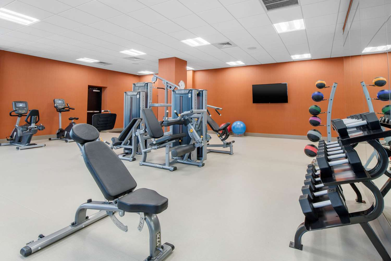 Fitness/ Exercise Room - Cambria Hotel & Suites College Park