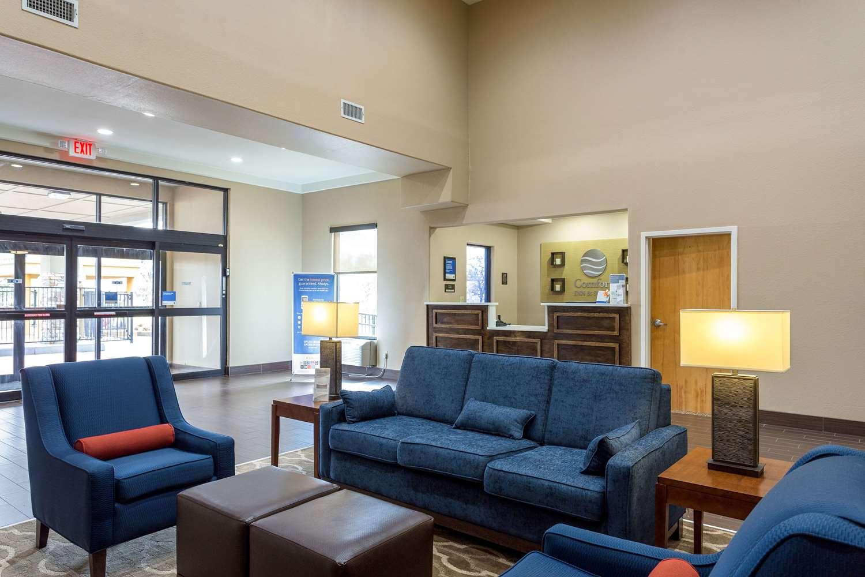 Lobby - Comfort Inn & Suites Airport Baton Rouge