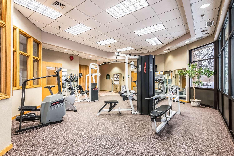 Fitness/ Exercise Room - Quality Inn Waterloo