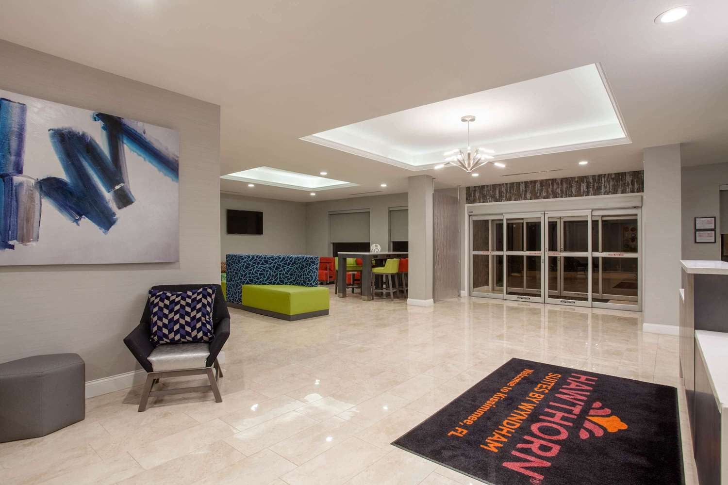 Lobby - Hawthorn Suites by Wyndham Kissimmee