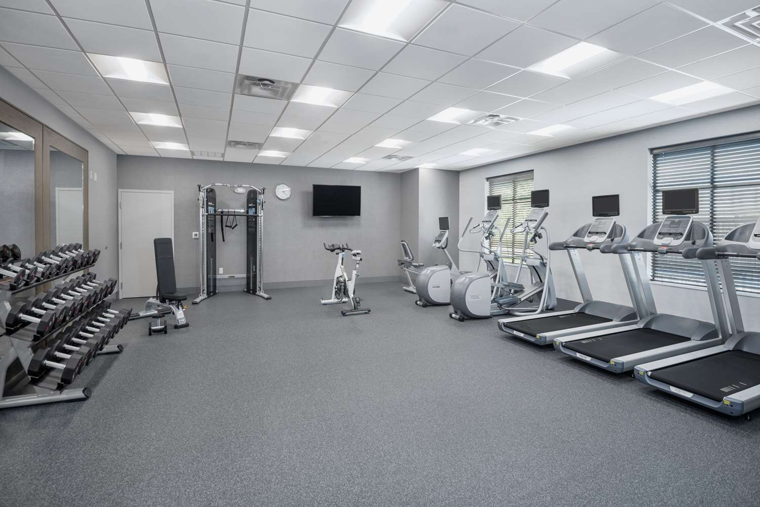 Fitness/ Exercise Room - Homewood Suites by Hilton Memorial City Houston