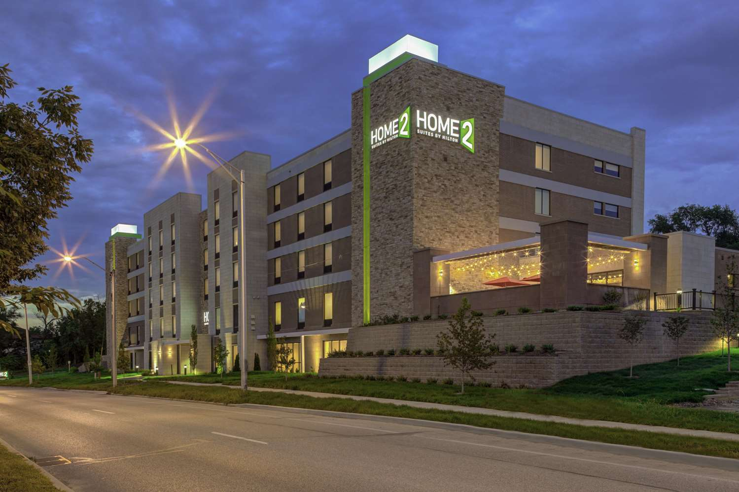 Exterior view - Home2 Suites by Hilton Downtown Bloomington