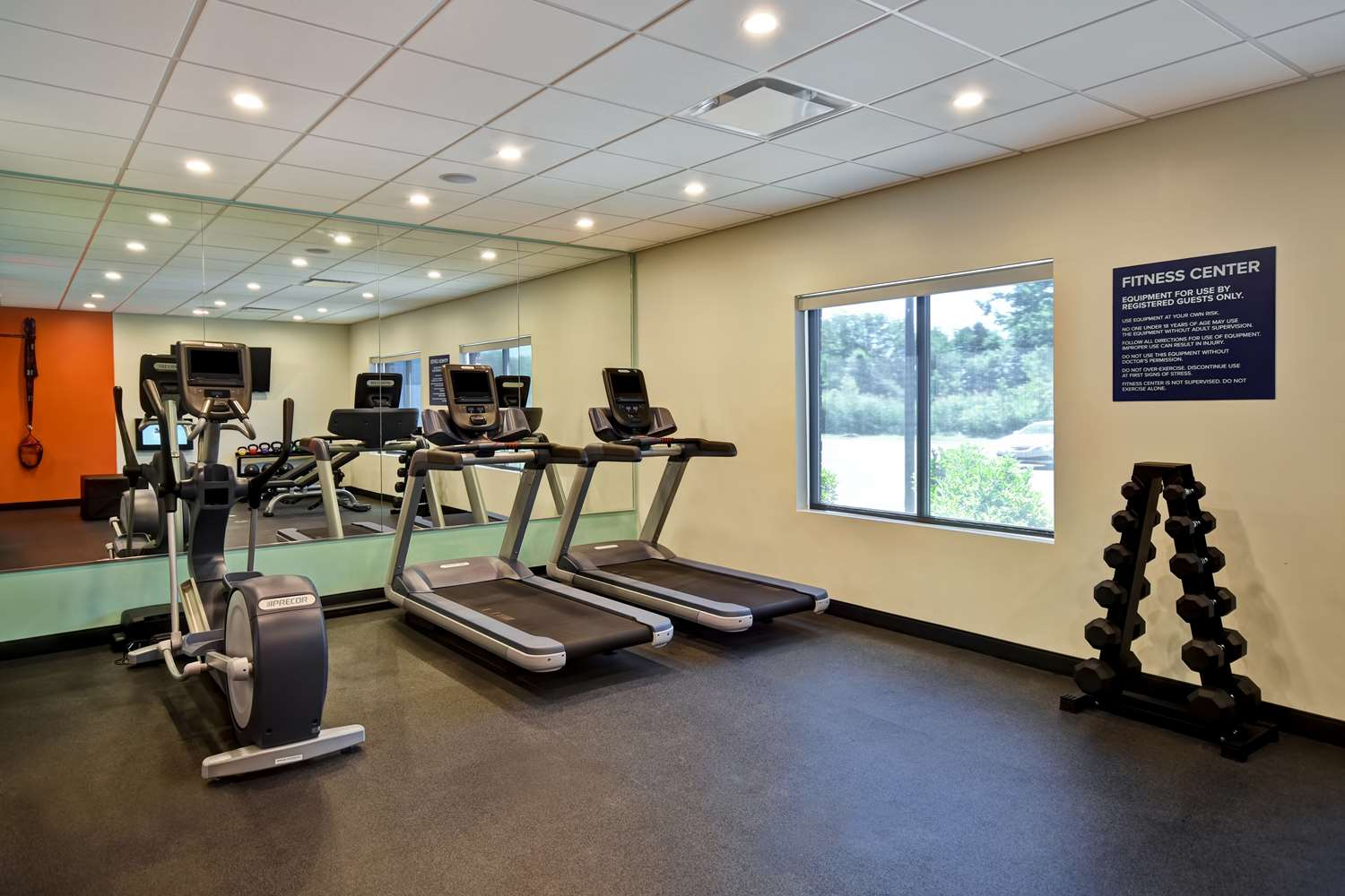 Fitness/ Exercise Room - Tru by Hilton Hotel Sterling Heights