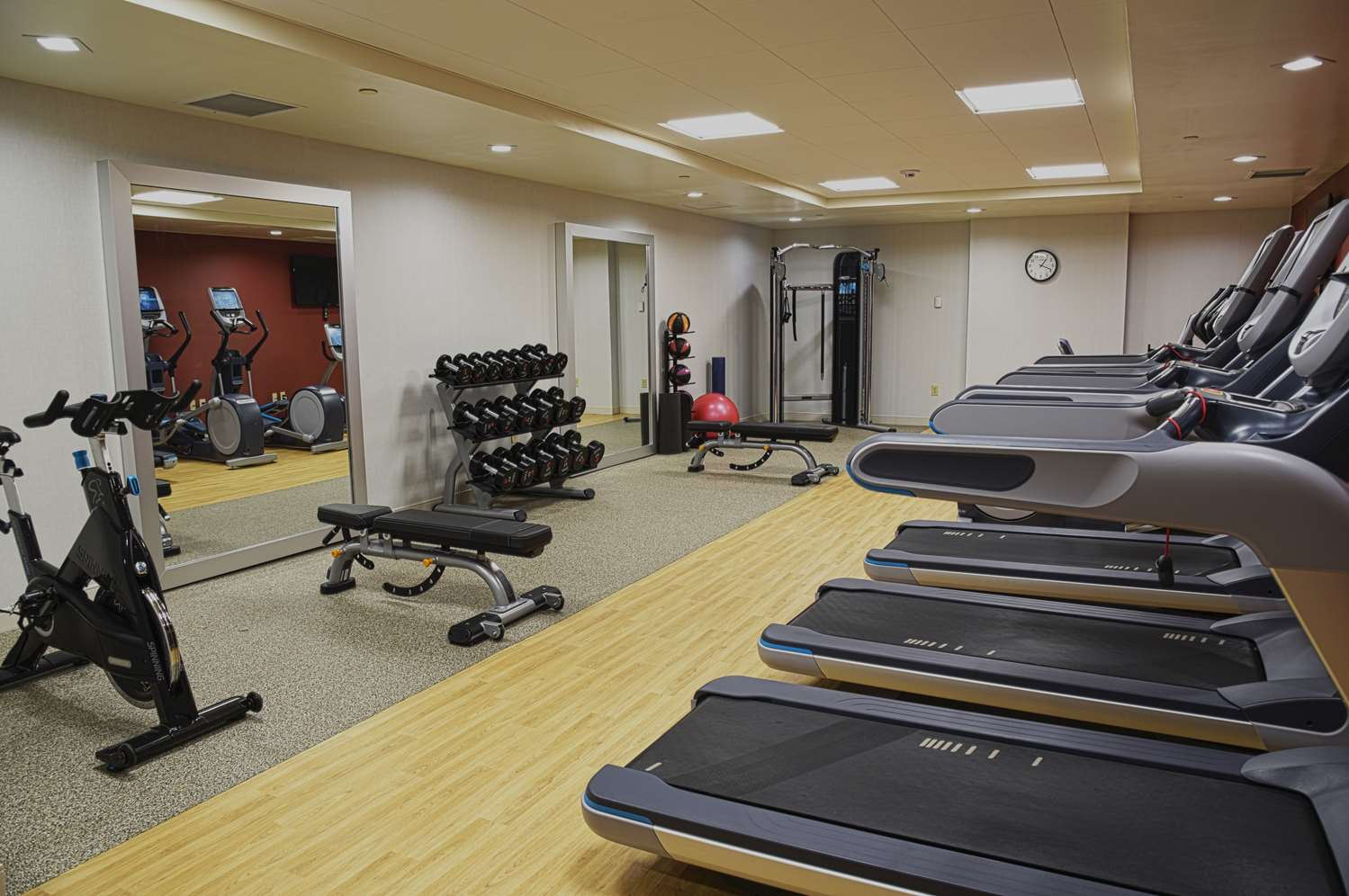 Fitness/ Exercise Room - Doubletree by Hilton Hotel Helena