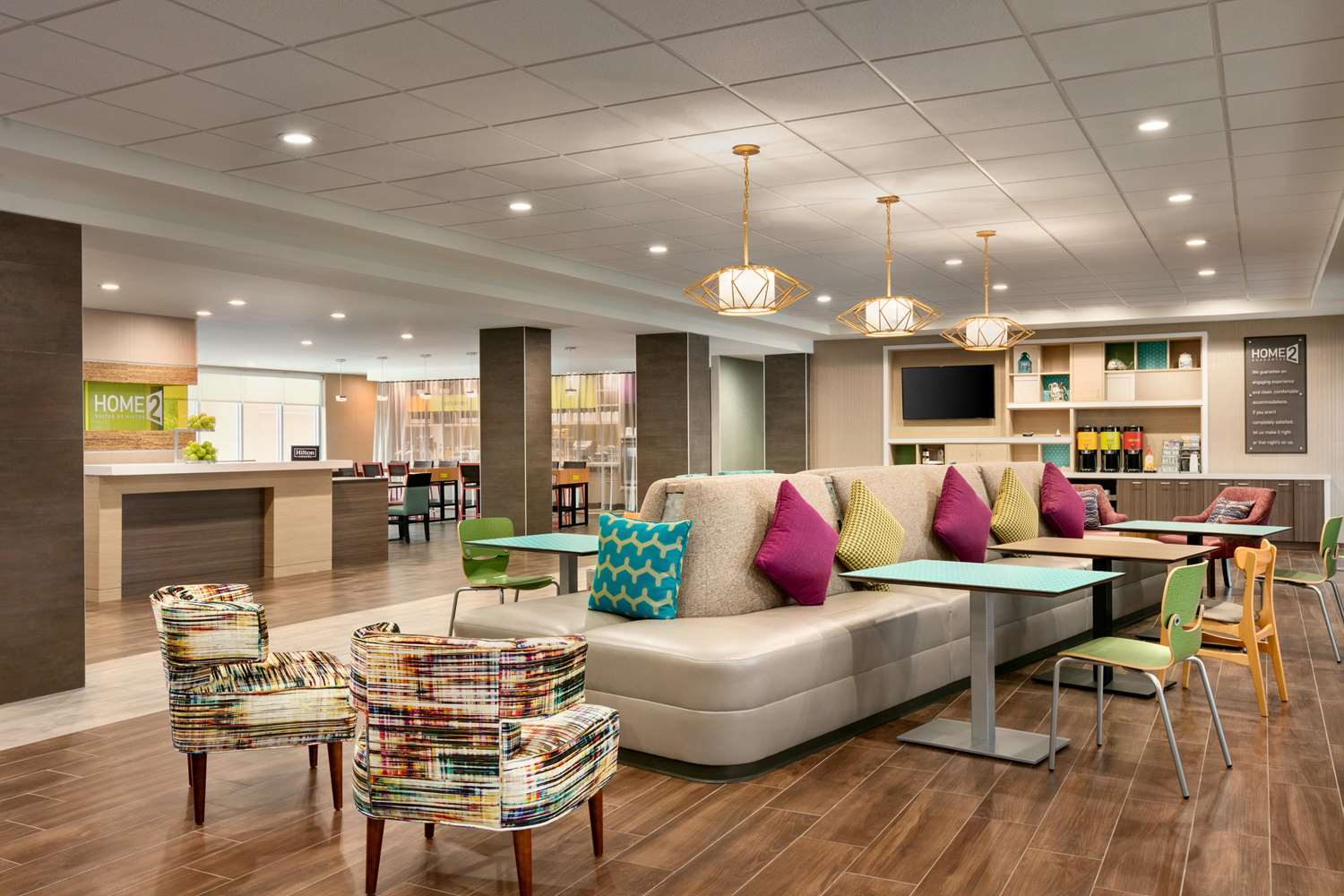 Lobby - Home2 Suites by Hilton Brandon