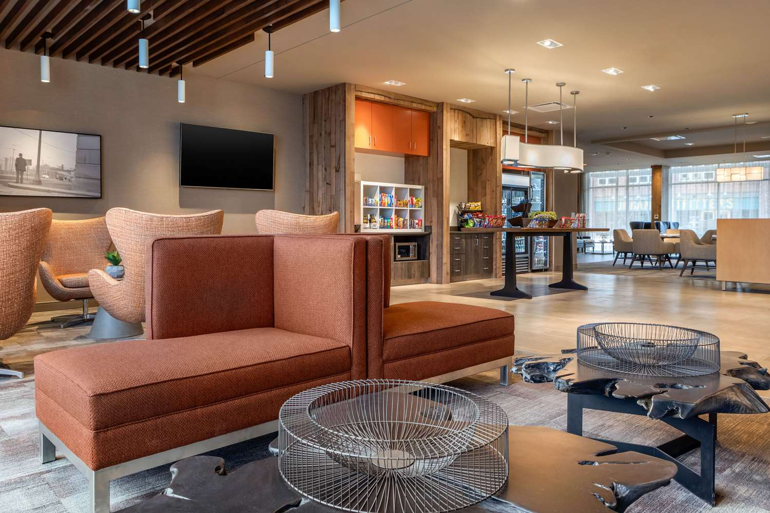 Lobby - Cambria Hotel & Suites Downtown Omaha