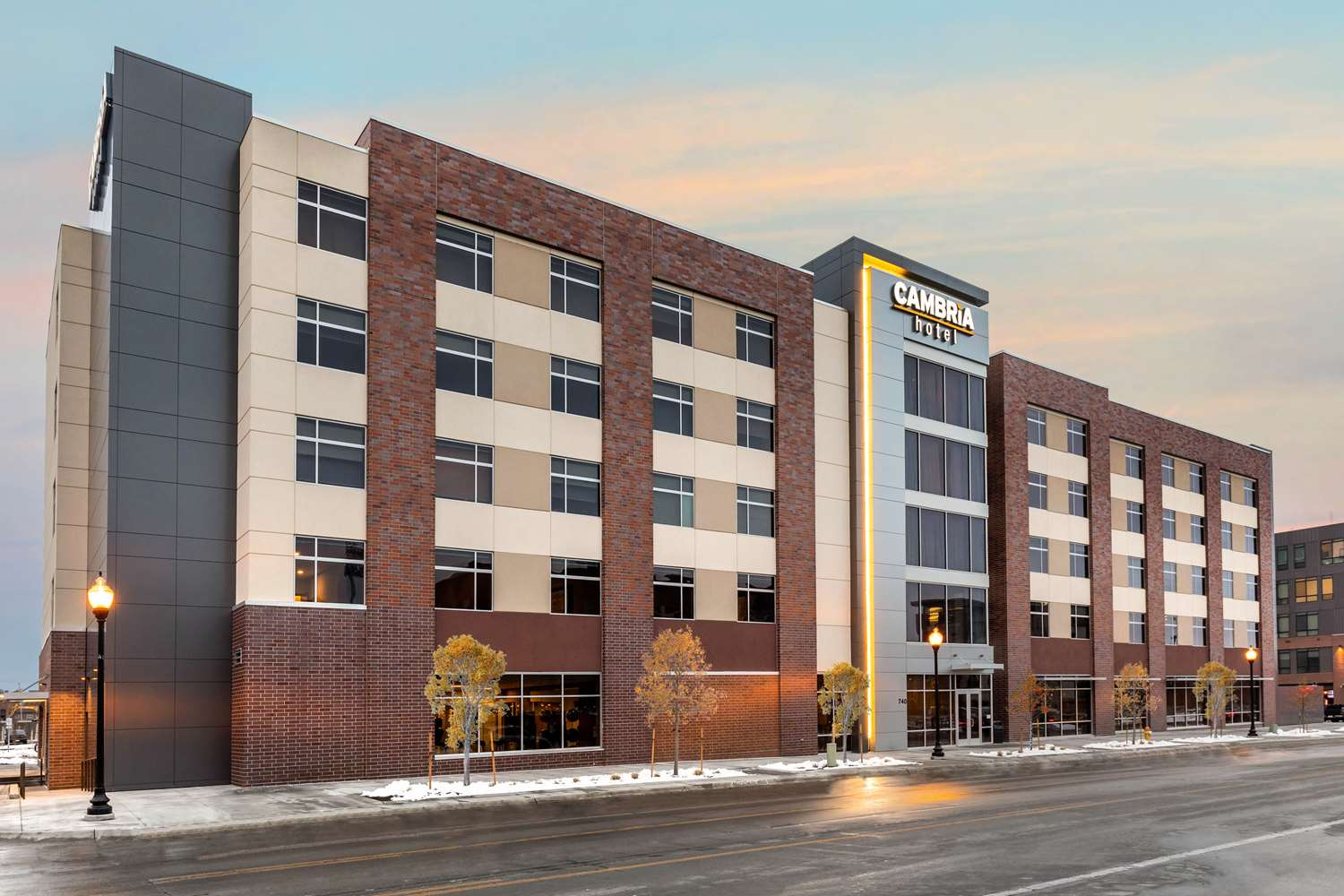 Exterior view - Cambria Hotel & Suites Downtown Omaha