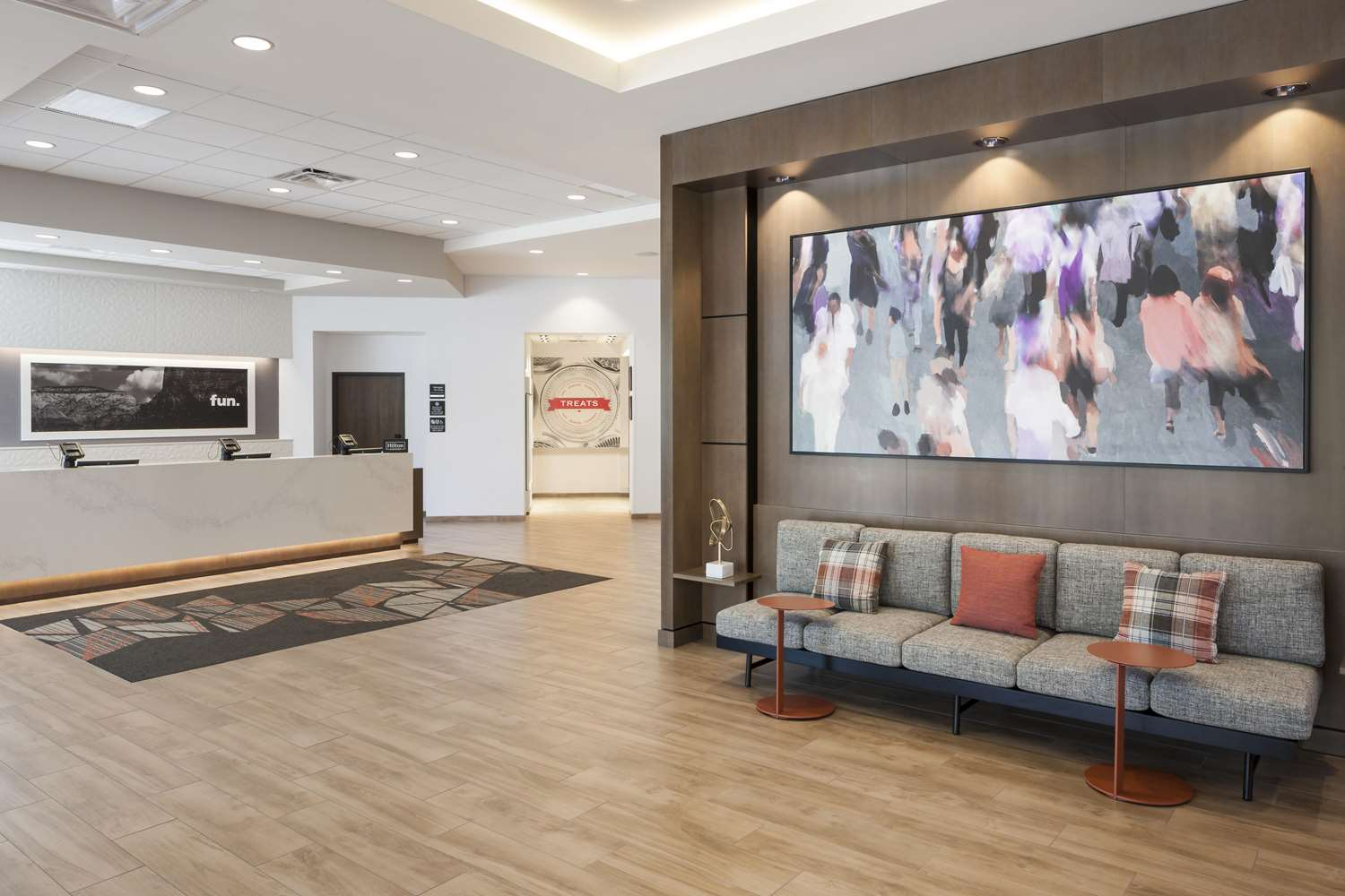 Lobby - Hampton Inn & Suites Downtown Phoenix