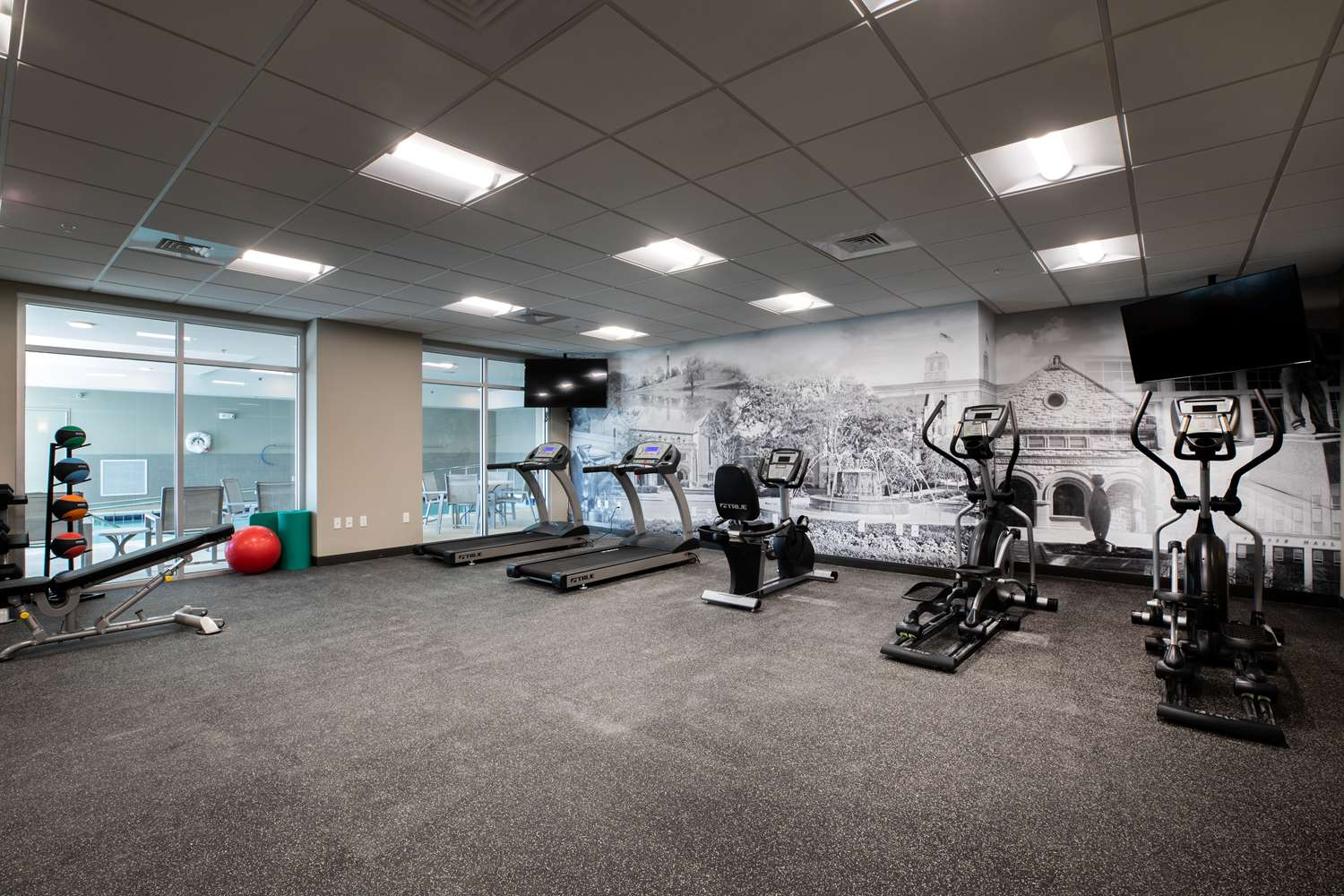 Fitness/ Exercise Room - Best Western Plus West Lawrence Hotel