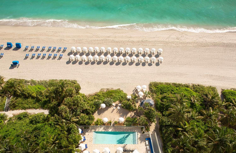 Beach - Sole Miami Noble House Resort Sunny Isles Beach