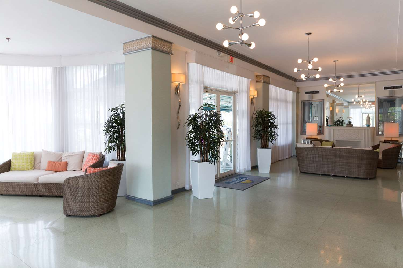 Lobby - Broadmoor Hotel Oceanfront Miami Beach