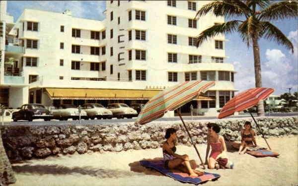 Exterior view - Broadmoor Hotel Oceanfront Miami Beach