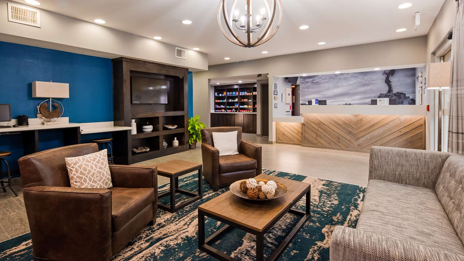 Lobby - Best Western Wichita Northeast Hotel