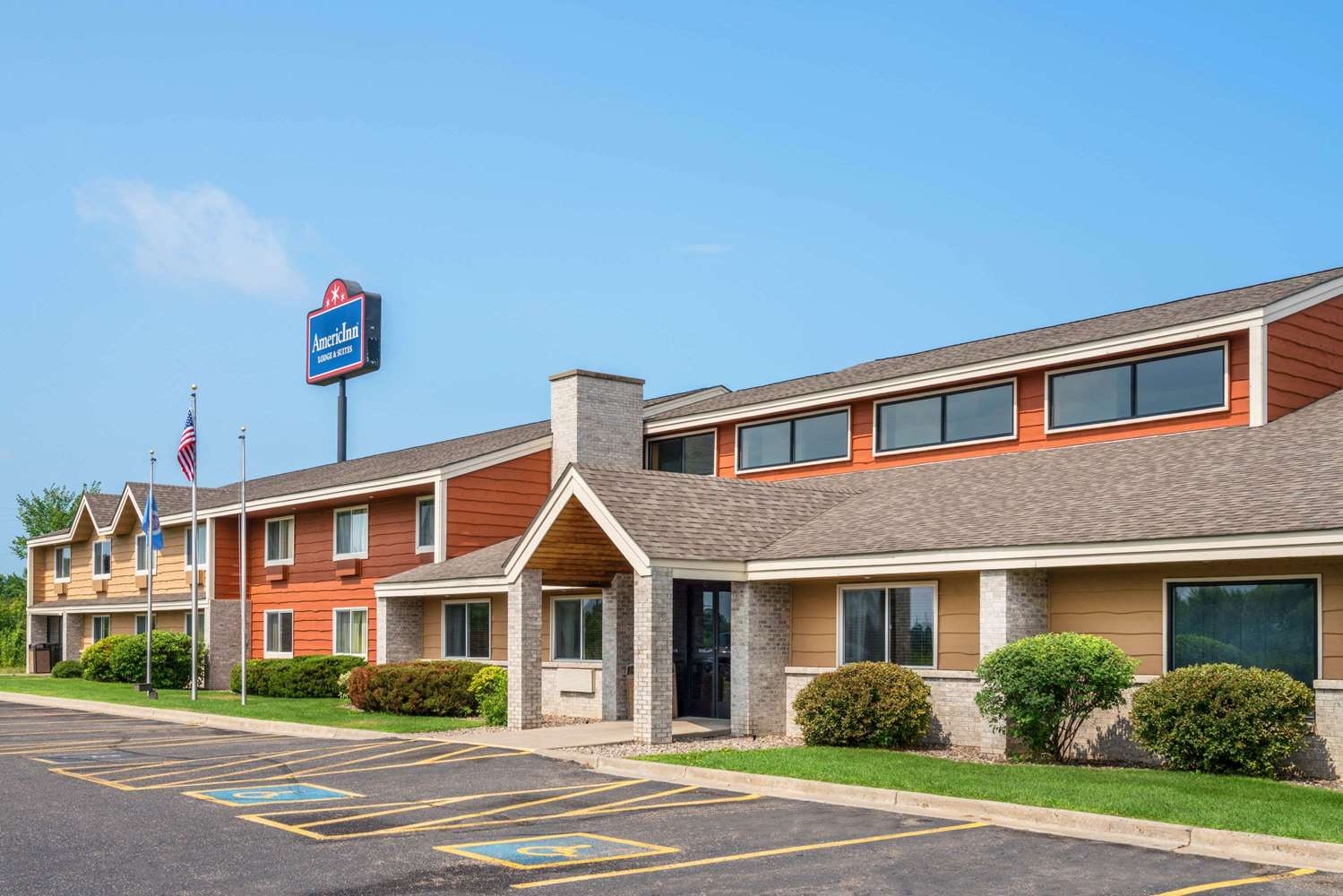 Exterior view - AmericInn Lodge & Suites Little Falls