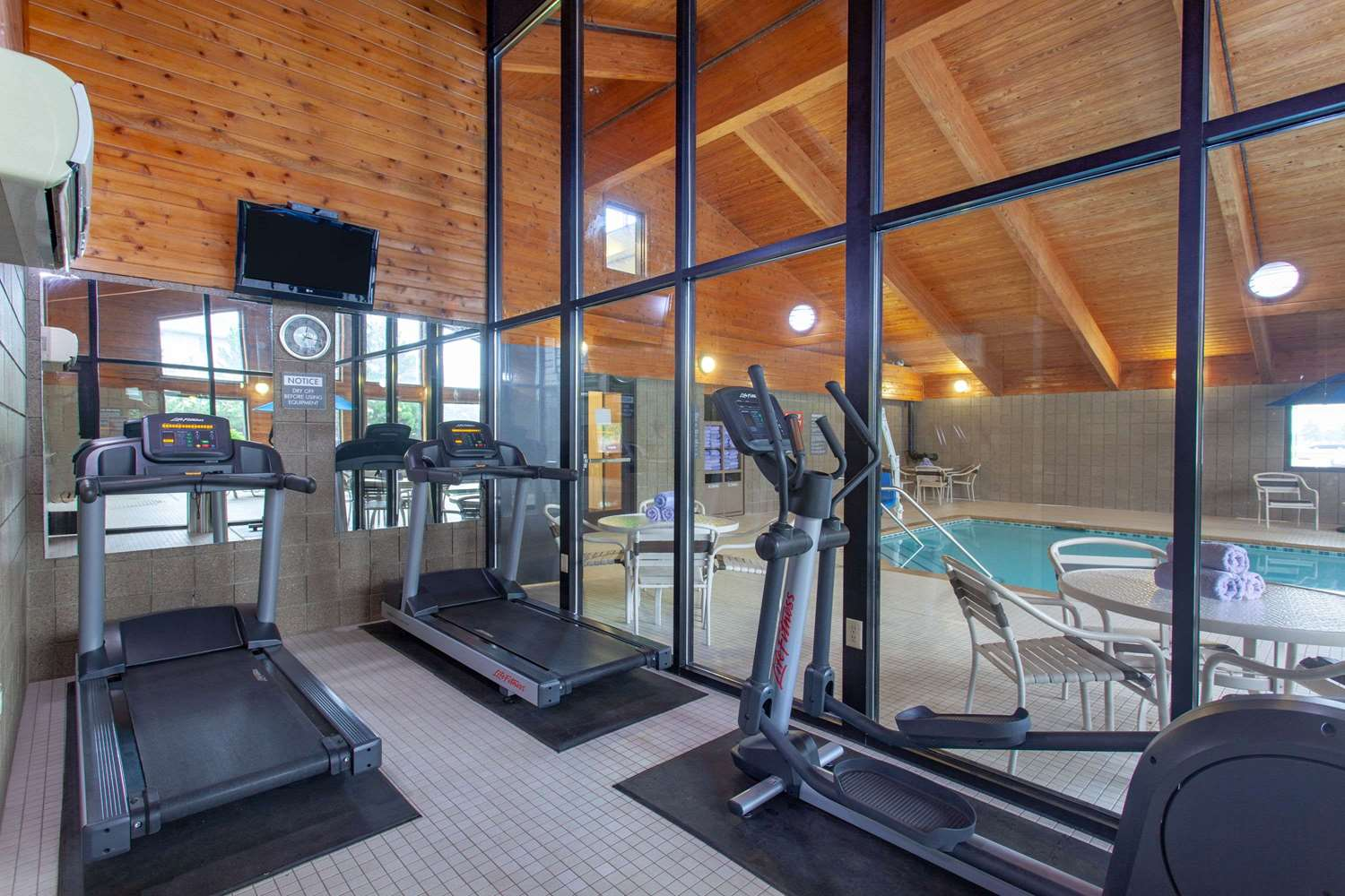 Fitness/ Exercise Room - AmericInn Hotel & Conference Center Mankato