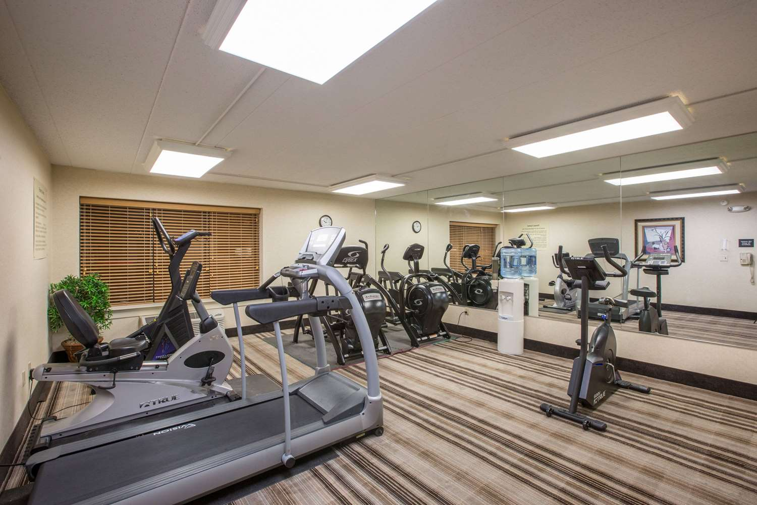 Fitness/ Exercise Room - AmericInn Hotel & Suites Omaha