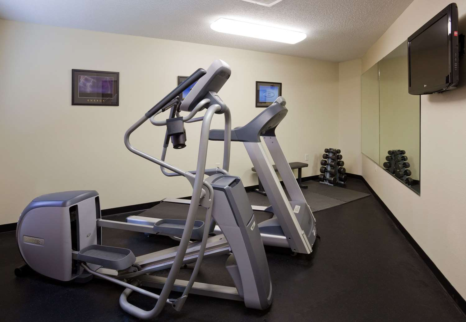 Fitness/ Exercise Room - AmericInn Lodge & Suites Sauk Centre