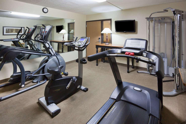 Fitness/ Exercise Room - AmericInn Lodge & Suites Roseau