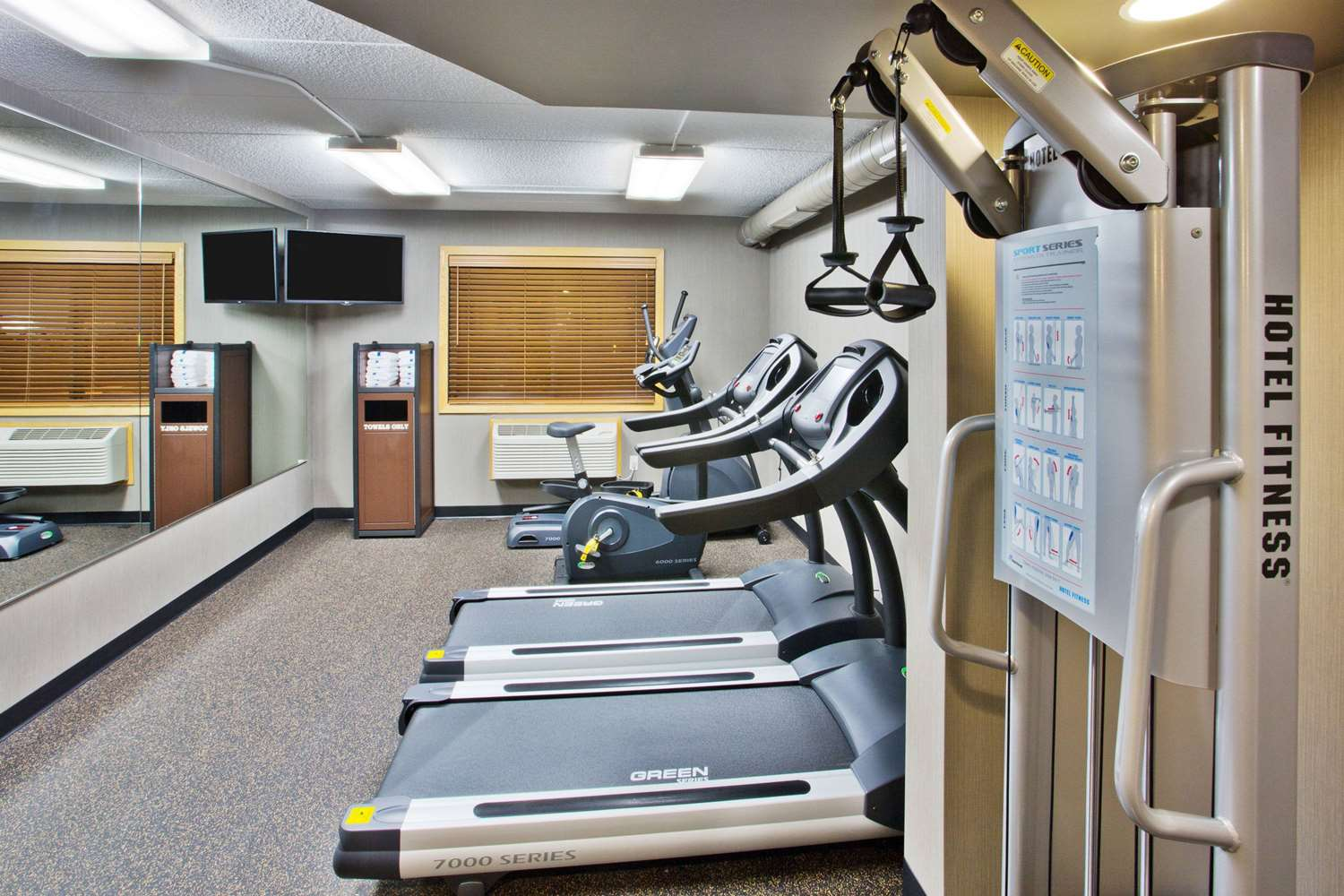 Fitness/ Exercise Room - AmericInn Grand Forks