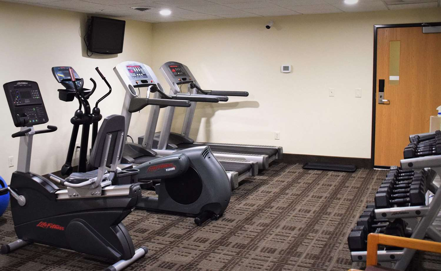 Fitness/ Exercise Room - AmericInn Lodge & Suites Merrill
