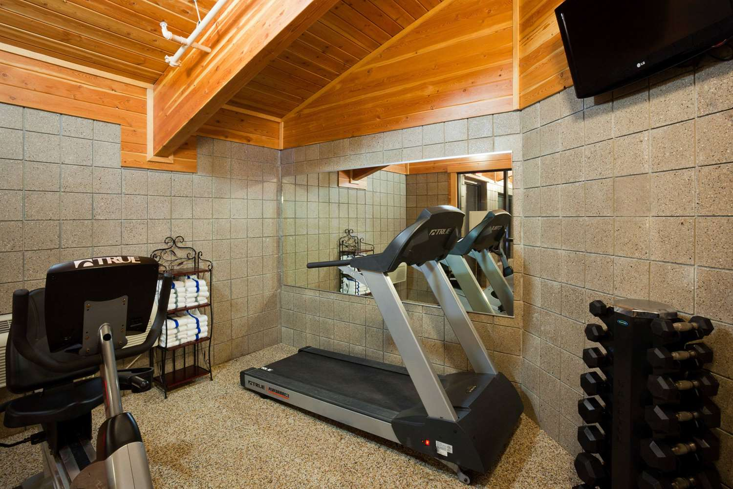 Fitness/ Exercise Room - AmericInn Lodge & Suites Thief River Falls