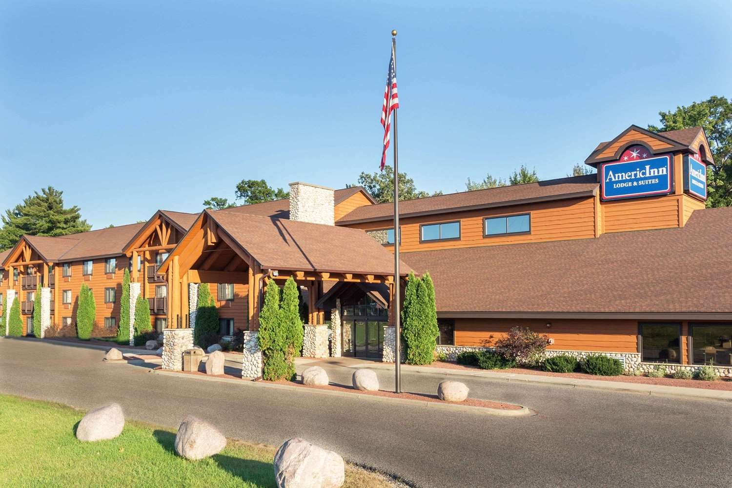 Exterior view - AmericInn Lodge & Suites Wisconsin Dells